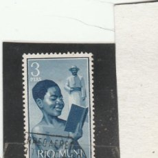 Selos: RIO MUNI 1960 - EDIFIL NRO. 7 - USADO. Lote 197023245