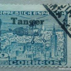 Sellos: ESPAÑA TANGER MARRUECOS AUTOGIRO EDIFIL 125. Lote 197066295