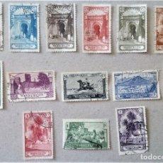 Sellos: MARRUECOS PAISAJES MONUMENTOS EDIFIL 105 - 118 COMPLETA. Lote 197107487