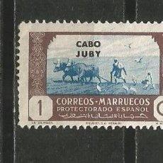 Sellos: CABO JUBY EDIFIL NUM. 138 USADO. Lote 197476371