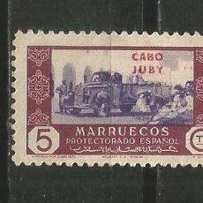 Sellos: CABO JUBY EDIFIL NUM. 163 USADO. Lote 197477345