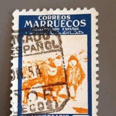 Selos: MARRUECOS, EDIFIL 386 ,1953. Lote 197836660