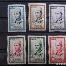 Timbres: MARRUECOS, 13-18* REINO INDEPENDIENTE, ZONA NORTE, 1957. Lote 197885430