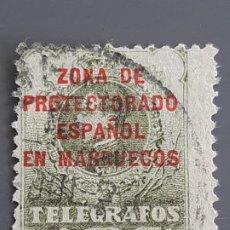 Selos: MARRUECOS, TELÉGRAFOS 9, 1917-18. Lote 197888622