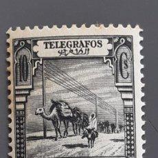 Timbres: MARRUECOS, TELÉGRAFOS 26* MANCHAS TIEMPO, 1928. Lote 197891115