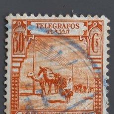 Selos: MARRUECOS, TELÉGRAFOS 27 , 1928. Lote 197891335