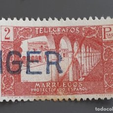 Timbres: MARRUECOS, TELÉGRAFOS 47 , 1938. Lote 197897105