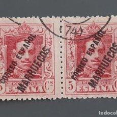 Francobolli: TÁNGER , EDIFIL 19 EN PAREJA, 1923-30. Lote 197975255