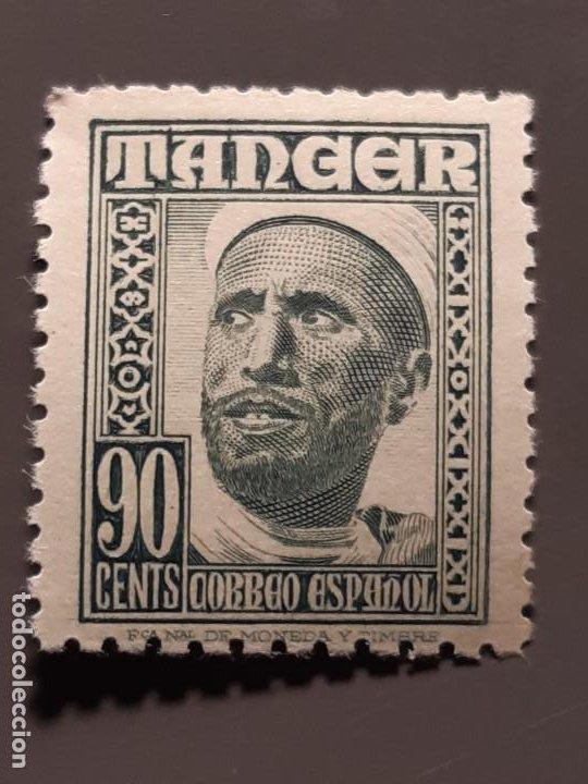 TÁNGER , EDIFIL 161 ** , 1948-51 (Sellos - España - Colonias Españolas y Dependencias - África - Tanger)
