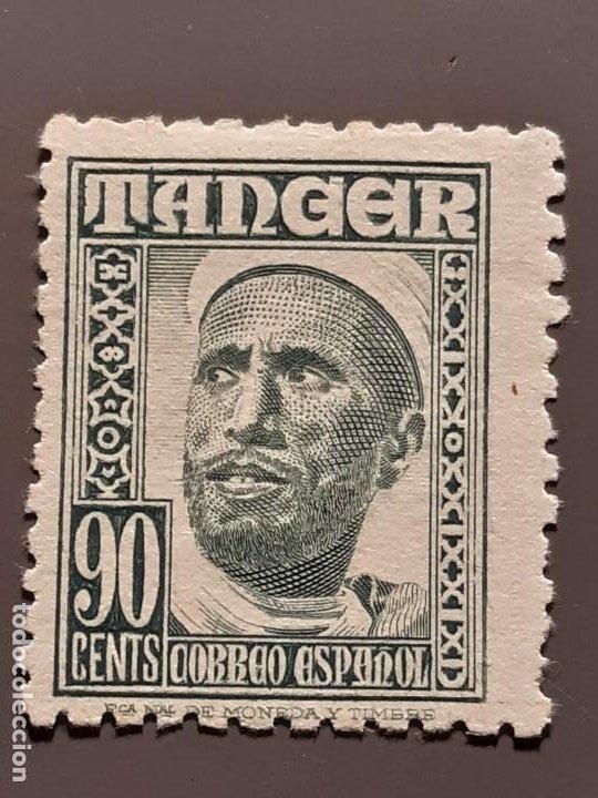 TÁNGER , EDIFIL 161 (*) , 1948-51 (Sellos - España - Colonias Españolas y Dependencias - África - Tanger)