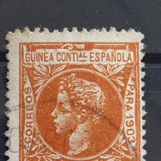 Selos: GUINEA , EDIFIL 18 , 1903. Lote 198084837