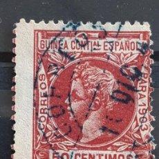 Selos: GUINEA , EDIFIL 19 , 1903. Lote 198084898