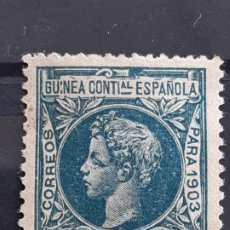 Selos: GUINEA , EDIFIL 21 (*) , 000,000 , 1903. Lote 198085183