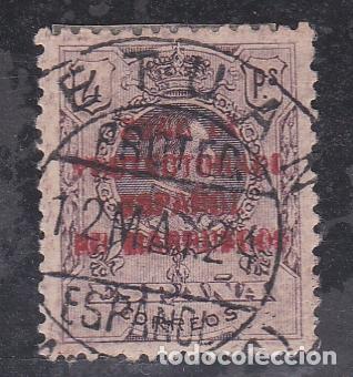 MARRUECOS.- SELLO Nº 79 CON MATASELLOS TETUAN. (Sellos - España - Colonias Españolas y Dependencias - África - Marruecos)