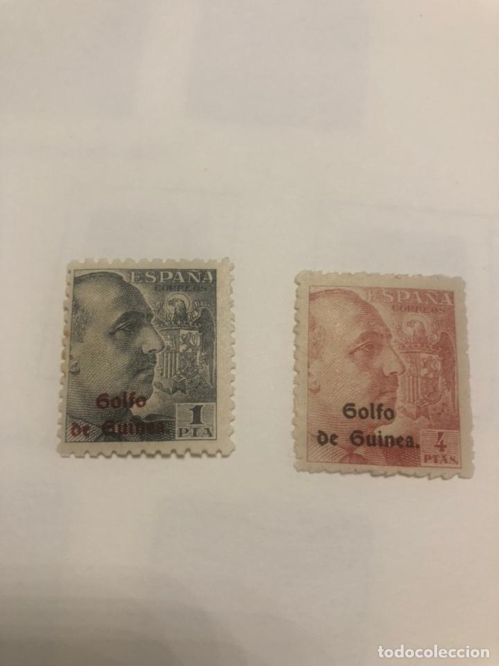 SELLOD GUINEA EDIFIL 269 270 CON CHARNELA (Sellos - España - Colonias Españolas y Dependencias - África - Guinea)