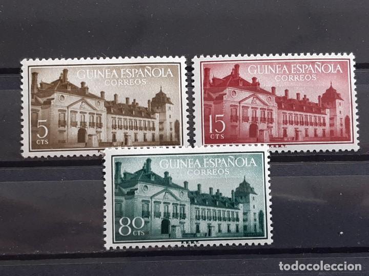 GUINEA , EDIFIL 347-349 *, 1955 (Sellos - España - Colonias Españolas y Dependencias - África - Guinea)