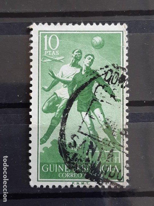 GUINEA , EDIFIL 354 , 1955 FÚTBOL (Sellos - España - Colonias Españolas y Dependencias - África - Guinea)