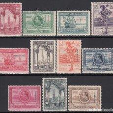Sellos: FERNANDO POO, 1929 EDIFIL Nº 168 / 178 /*/, EXPOSICIONES DE SEVILLA Y BARCELONA . Lote 198545821