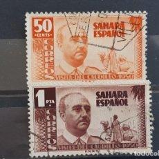 Timbres: SAHARA , EDIFIL 88-89 , 1951 FRANCO. Lote 198593635