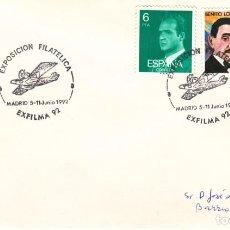 Sellos: TARJETA: 1992 MADRID. EXFILMA - 92. Lote 199190751