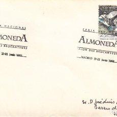 Sellos: TARJETA: 1992 MADRID. ALMONEDA - SALON DE BROCANTEURS. Lote 199192970