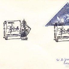 Sellos: TARJETA: 1992 MIERES. HOMENAJE ALONSO DE QUINTANILLA. Lote 199194415