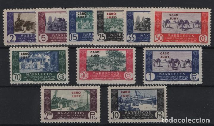 R37/ MARRUECOS CABO JUBY, Nº 167/72 MNH** (Sellos - España - Colonias Españolas y Dependencias - África - Marruecos)