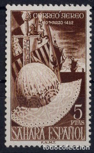 SAHARA 1952 V CENT. NACIMIENTO DE FERNANDO, EDIFIL Nº 97 (Sellos - España - Colonias Españolas y Dependencias - África - Sahara)
