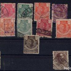 Sellos: GUINEA 1914 ALFONSO XIII 98 AL 110 128 140. Lote 199377867