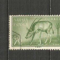 Timbres: SAHARA ESPAÑOL EDIFIL NUM. 125 USADO. Lote 199419263