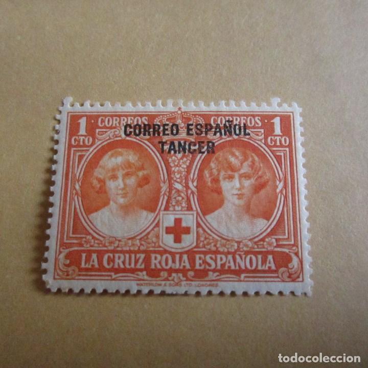 TANGER 1926, EDIFIL Nº 23*, PRO CRUZ ROJA ESPAÑAOLA. FIJASELLOS (Sellos - España - Colonias Españolas y Dependencias - África - Tanger)