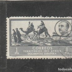 Sellos: AFRICA OCCIDENTAL 1950 - EDIFIL NRO. 14 - PAISAJE Y GRAL. FRANCO - USADO -. Lote 200846521