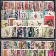 Francobolli: SAHARA 1950-1975 COMPLETA. EDIFIL 83/322 ** NUEVOS SIN CHARNELA 2º CENTENARIO. Lote 201132857