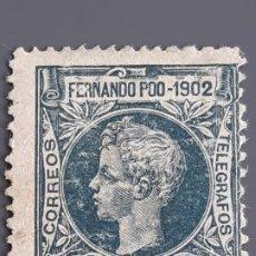 Selos: FERNANDO POO , EDIFIL 111 (*), YVERT 102, 1902. Lote 201184121
