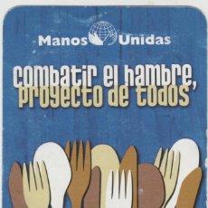 Sellos: LOTE A-CALENDARIO 2009 MANOS UNIDAS. Lote 201261411