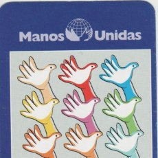 Sellos: LOTE A-CALENDARIO 2001 MANOS UNIDAS. Lote 213801550
