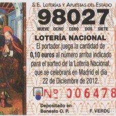 Sellos: LOTE A-CALENDARIO 2013. Lote 227130229