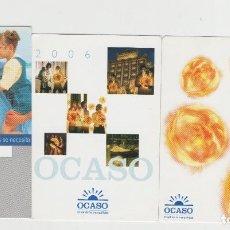 Sellos: LOTE A-CALENDARIOS 2004-06-07 OCASO SEGUROS. Lote 201263042