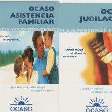 Sellos: LOTE A-CALENDARIOS 2002 OCASO SEGUROS. Lote 201263060