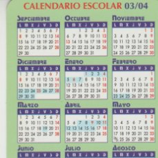 Sellos: LOTE A-CALENDARIO ESCOLAR 2003-4 . Lote 201284877