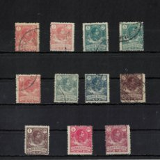 Sellos: COLONIAS RIO DE ORO EDIFIL AÑO 1909 Nº 41/43+43+44/45+47+49+51/53 - 11 SELLOS NUEVOS Y USADOS. Lote 290144948