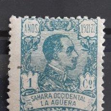 Sellos: LA AGÜERA , EDIFIL 14 * , 1923. Lote 202072170
