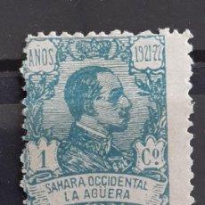 Sellos: LA AGÜERA , EDIFIL 14 * , 1923. Lote 202072171