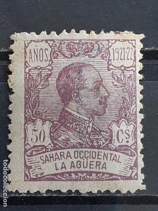 LA AGÜERA , EDIFIL 23 *, ÓXIDO, 1923 (Sellos - España - Colonias Españolas y Dependencias - África - La Agüera)