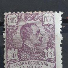 Sellos: LA AGÜERA , EDIFIL 23 *, PUNTOS CLAROS, 1923. Lote 202072816