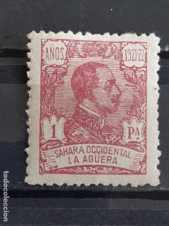 LA AGÜERA , EDIFIL 24 *, BIEN CENTRADO , 1923 (Sellos - España - Colonias Españolas y Dependencias - África - La Agüera)