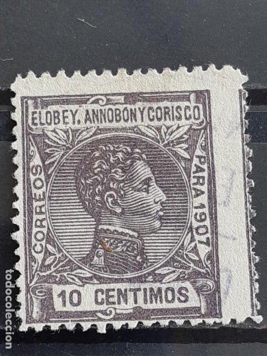 ELOBEY, ANNOBÓN Y CORISCO, EDIFIL 40 , 1907 (Sellos - España - Colonias Españolas y Dependencias - África - Elobey, Annobón y Corisco )