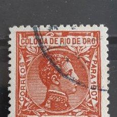 Selos: RIO DE ORO, EDIFIL 21 , 1907. Lote 202094667
