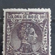Selos: RIO DE ORO, EDIFIL 29 *, 1907. Lote 202096017