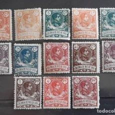 Selos: RIO DE ORO, EDIFIL 41-53 *, A000.000, 1909. Lote 202097565